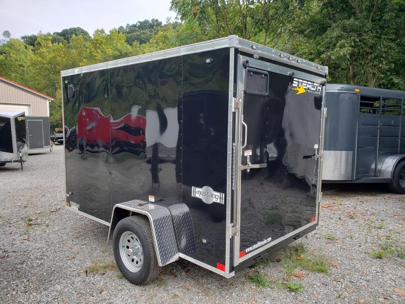 2020 Stealth Trailers 6x10 Ramp Door Mustang Enclosed Cargo Trailer
