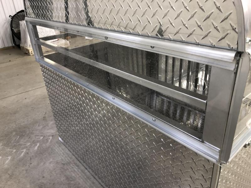 2020 US Cargo Stock Box 8' Truck Boxes (Livestock and Dog)