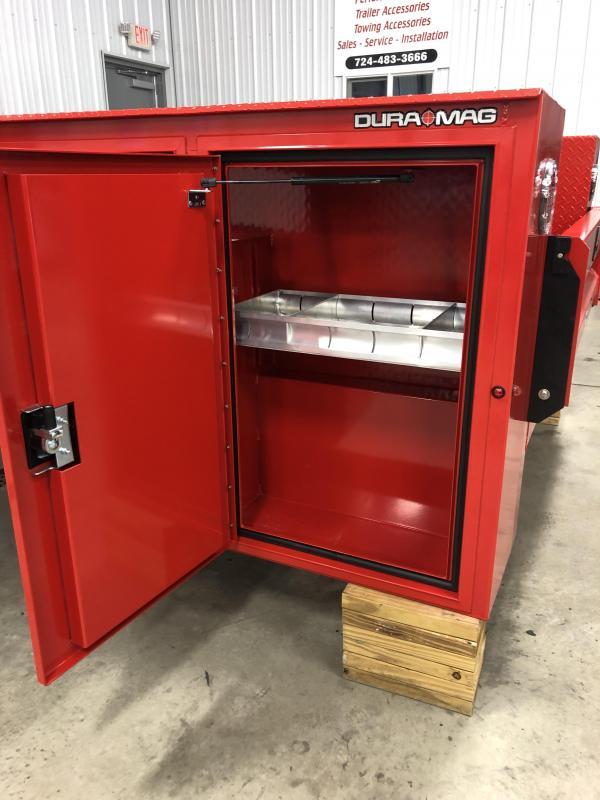DuraMag S-Series Aluminum Service Body Red SRW
