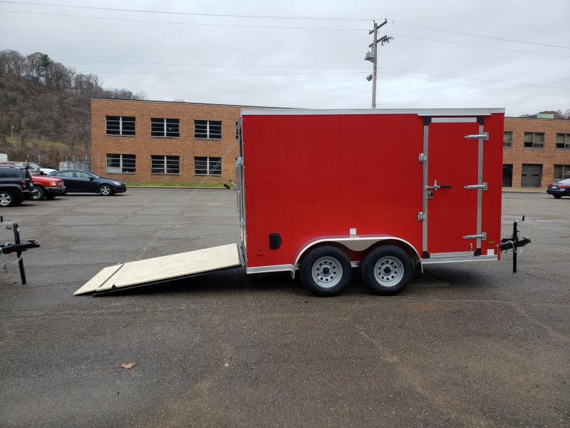 2020 US Cargo ULAFT 6x12 Tandem Axle 6 Extra Height Enclosed Cargo Trailer