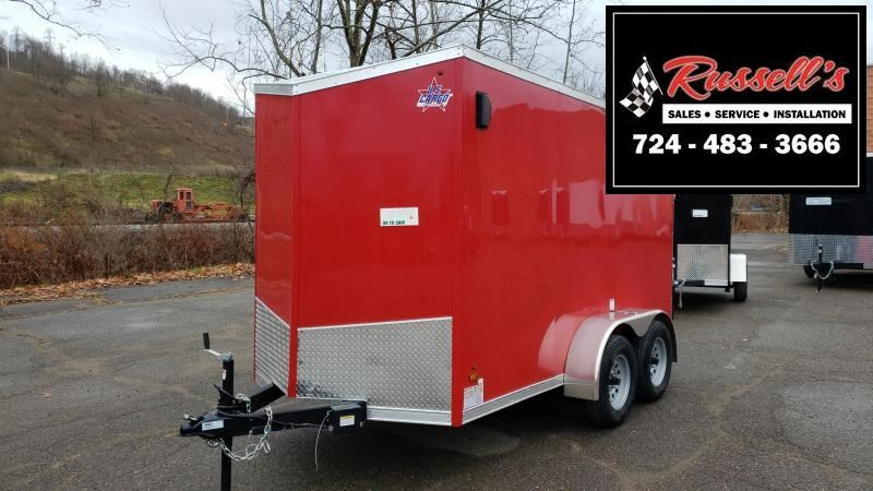 2020 US Cargo ULAFT 6x12 Tandem Axle 6 Extra Height Enclosed Cargo Trailer