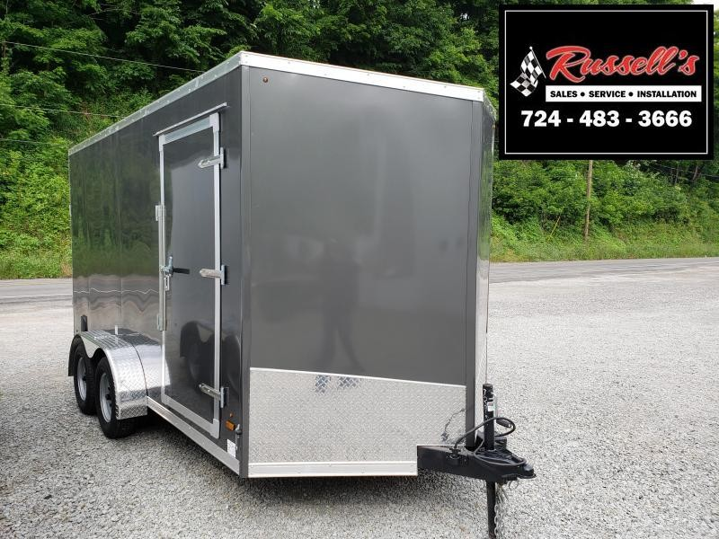 2020 US Cargo 7x14 ULAFT Ramp Door 12'' Extra Height Enclosed Cargo Trailer