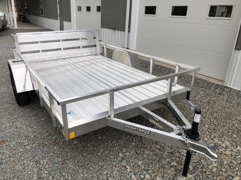 2020 Stealth Trailers 6.5x10 Phantom II Aluminum Utility Trailer