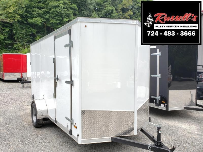 "2020 US Cargo ULAFT 6x12 Ramp Door 6"" Extra Height Enclosed Cargo Trailer"