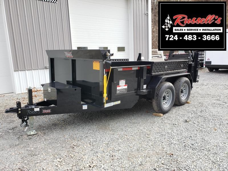 2020 Forest River 7x12 12000 GVW Dump Trailer