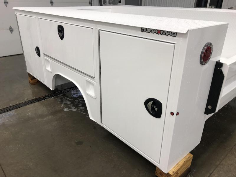 "DuraMag S-Series Aluminum Service Body 60""ca Cab and Chassis DRW"