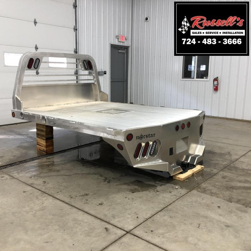 "2019 Norstar AR Aluminum 86 x 84"" SRW Bed Removal Truck Bed"