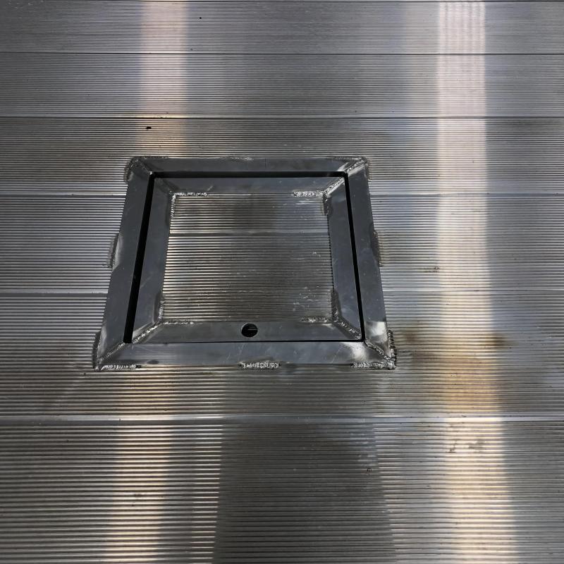 "2019 Norstar AR Aluminum 86 x 84"" SRW Bed Removal Truck Bed"