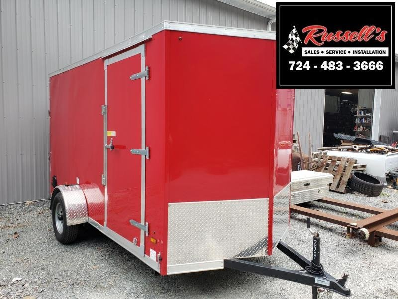 2019 US Cargo ULAFT 6x12 Ramp Door 6'' Extra Height Enclosed Cargo Trailer