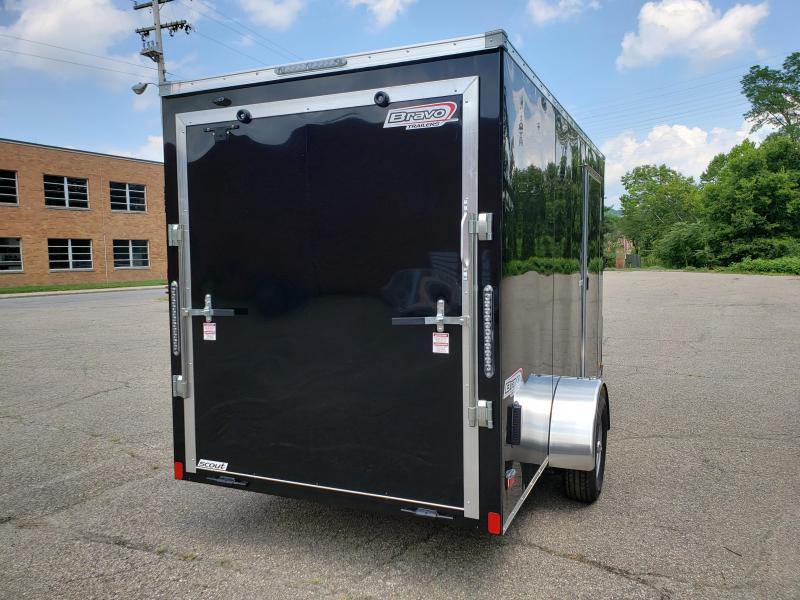 2020 Bravo Trailers Scout 6x12 6 Extra Height Enclosed Cargo Trailer
