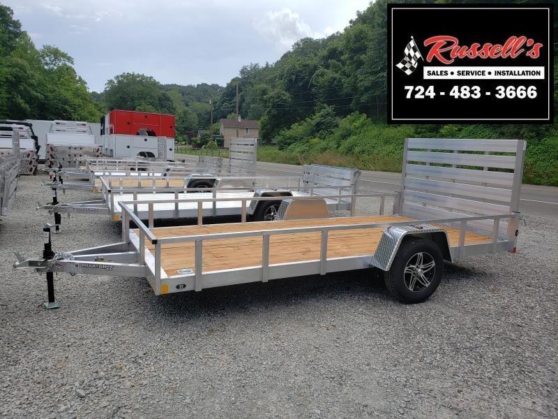 2020 Stealth Trailers 6.5x14 Phantom II Aluminum Utility Trailer