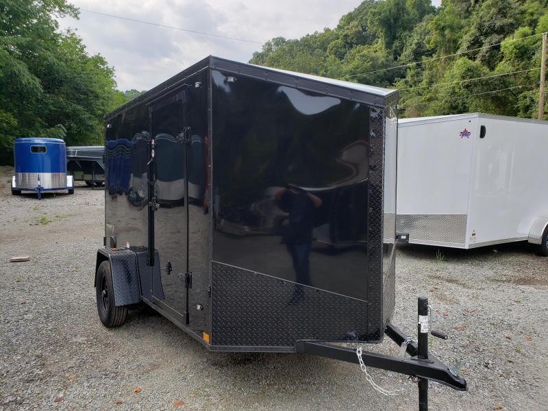 2020 Stealth Trailers 6x10 Ramp Door Titan Enclosed Cargo Trailer