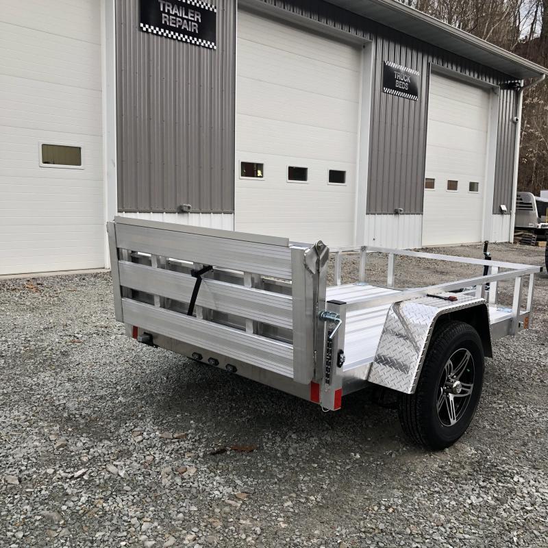 2020 Stealth Trailers 5x8 Phantom II Aluminum Utility Trailer