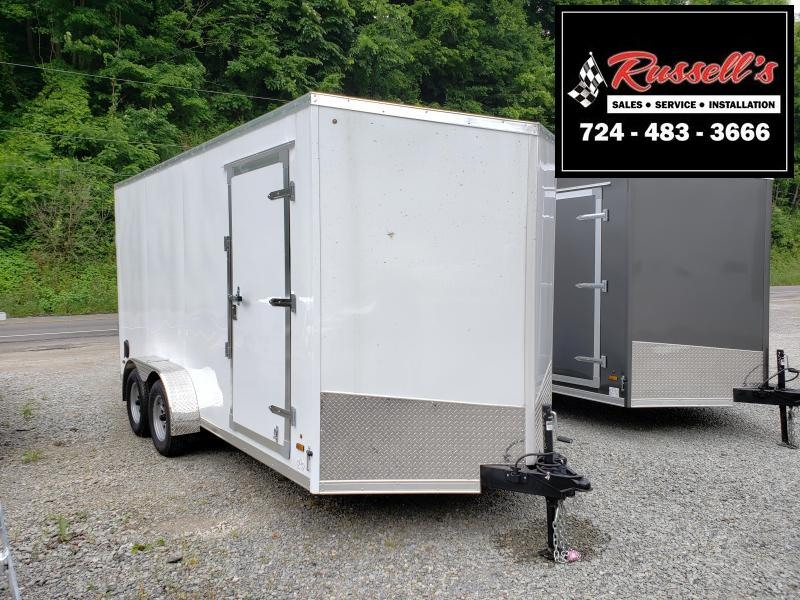 "2020 US Cargo ULAFT 7x16 Ramp Door 12"" Extra Height Enclosed Cargo Trailer"