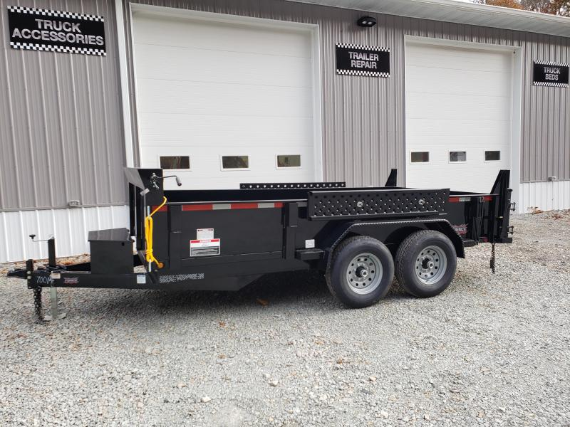 2020 Forest River 7x14 14000 GVW Dump Trailer