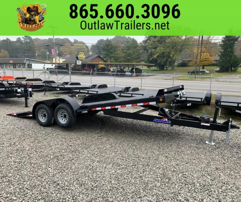 New 2020 Outlaw 20' 10K Full Hydraulic Tilt Trailer
