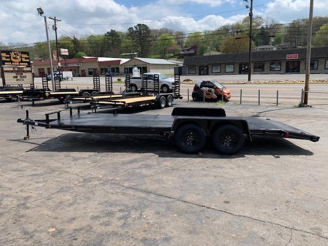 "2020 Outlaw Trailers 82"" x 20' Steel Floor Car Hauler-7000 GVWR Car / Racing Trailer"