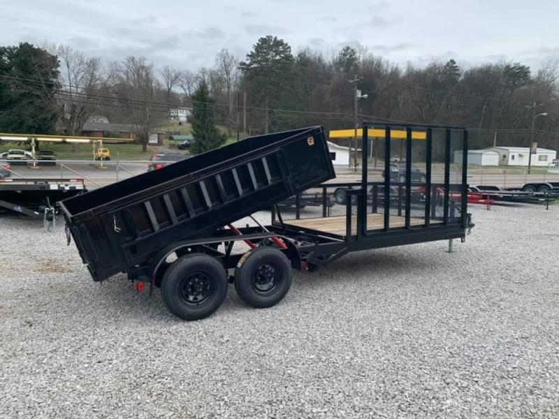 New 2020 Outlaw 7 X 18 10K Hybrid Dump Trailer