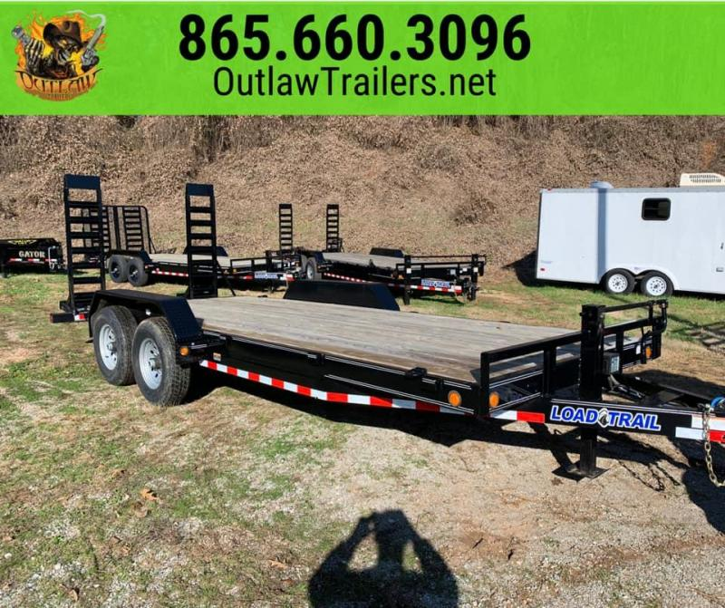 "New 2020 Load Trail 83"" X 20' 14K Equipment Trailer w/ Stand-Up Ramps"