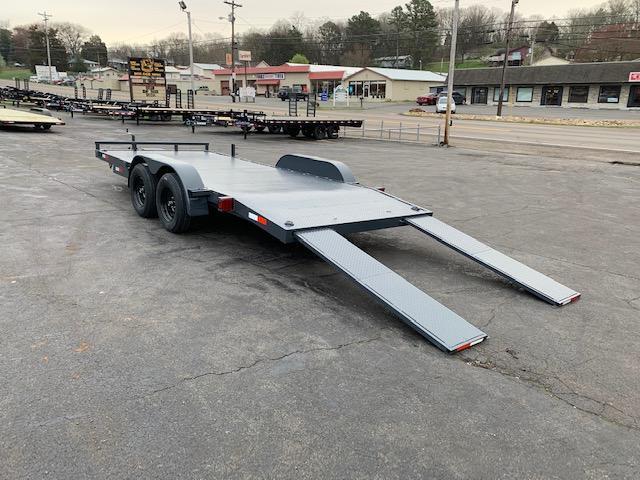 2020 Outlaw Trailers 18' Steel Floor Car Hauler- 7000 GVWR Car / Racing Trailer
