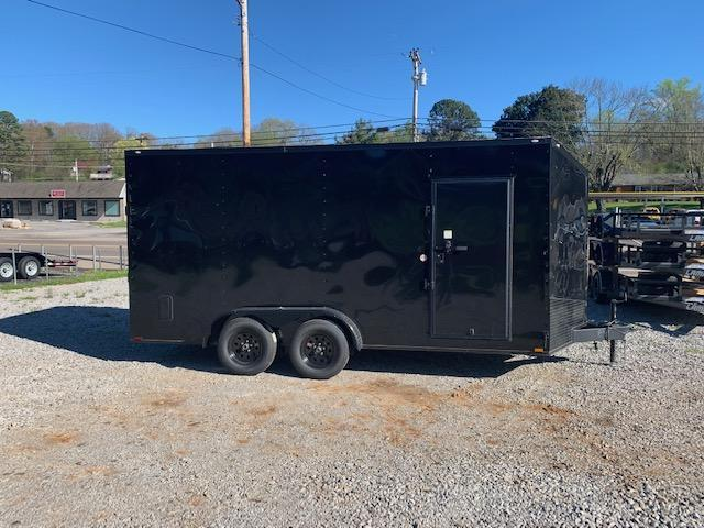 2020 Outlaw Trailers 7' x 16' 7000 GVWR w/ 7' interior height Enclosed Cargo Trailer