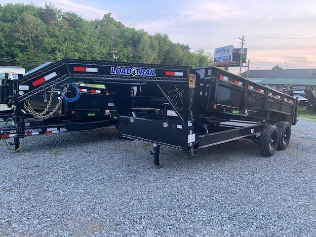 "2020 Load Trail 83"" x 16' 14000 GVWR Gooseneck Dump Trailer"