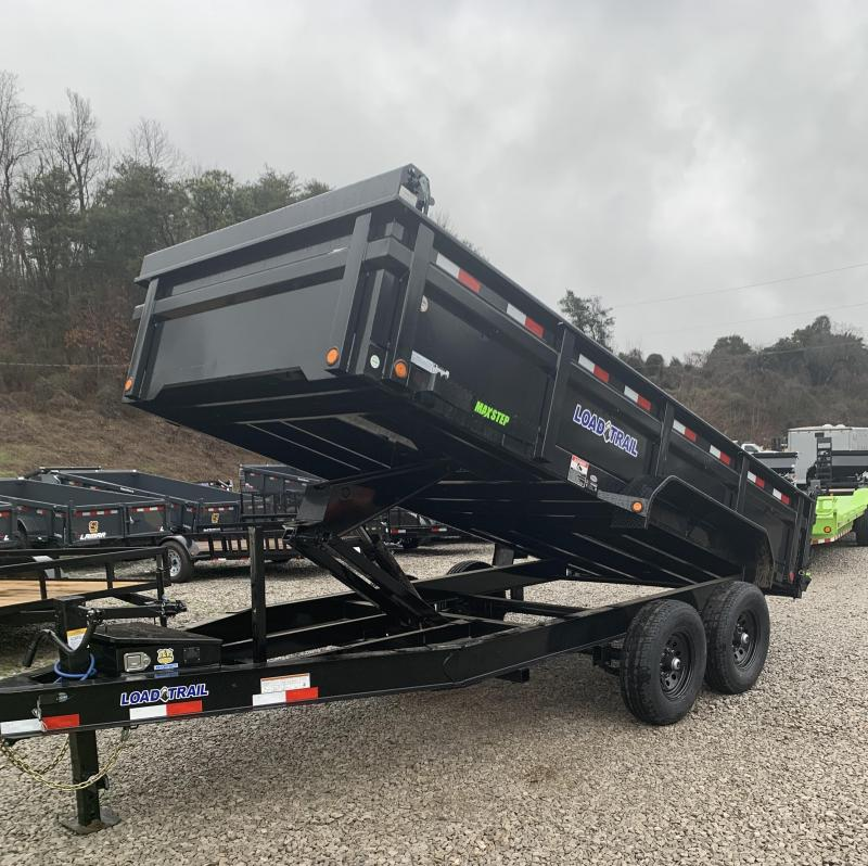 2020 Load Trail BLACK Dump Trailer