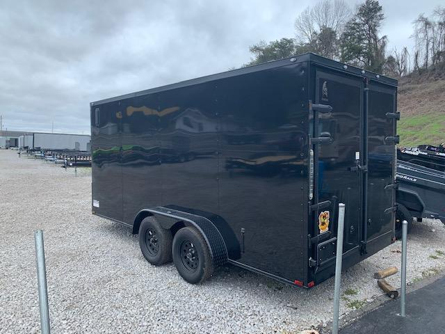2020 Outlaw Trailers 7x16 Blackout Enclosed Cargo Trailer