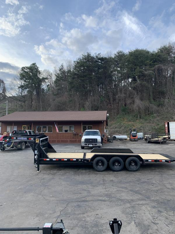 "2020 Load Trail Black 83""x24' Gooseneck Equipment Trailer"