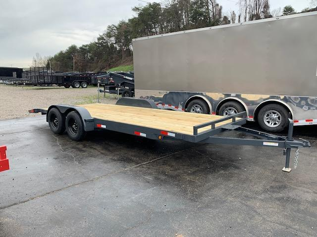 "2020 Outlaw Trailers 82"" x 20' Wood Floor Car Hauler7000 GVWR Car / Racing Trailer"