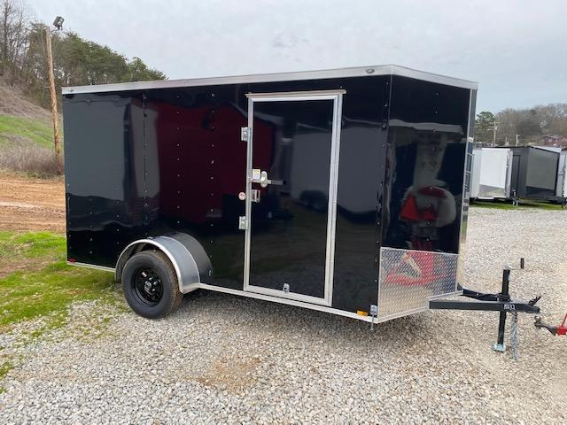 2020 Outlaw Trailers 6X12 BLACK AND SILVER Enclosed Cargo Trailer