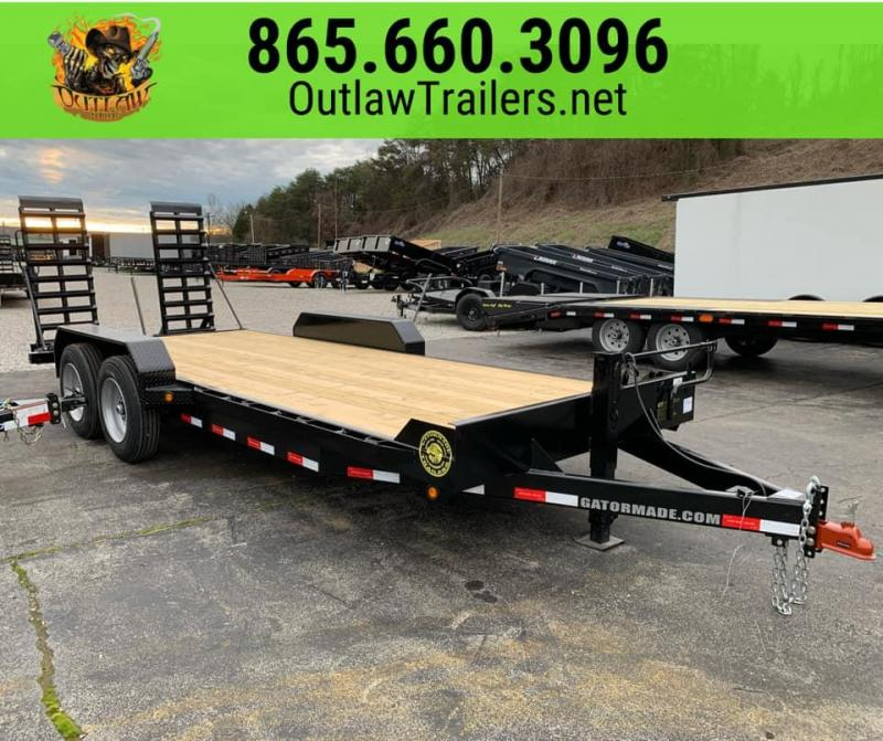 New 2020 Gatormade 20' Skid Steer / Equipment Trailer 16K