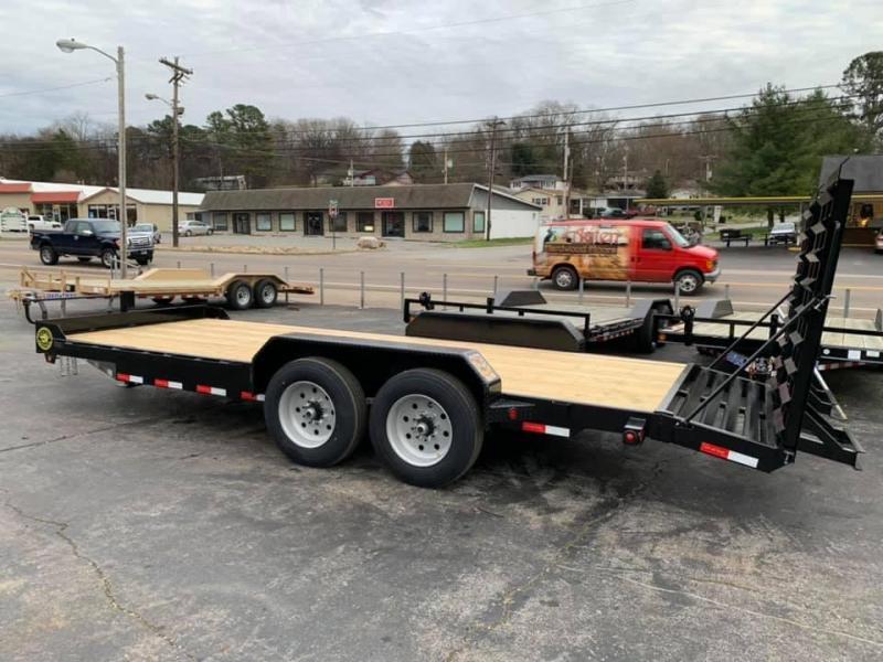 New 2020 Gatormade 20' Skid Steer / Equipment Trailer 16K
