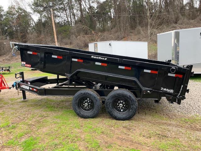 2020 Lamar Trailers 7' x 14' 14000 GVWR Dump Trailer