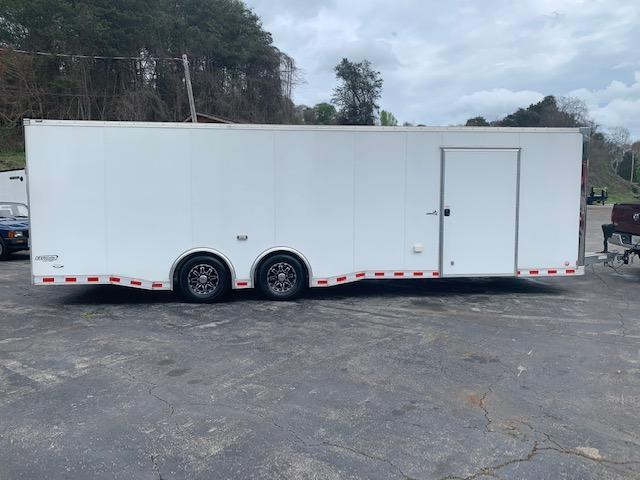 2017 Bravo Trailers 8.5' x 28' ALUMINUM enclosed race trailer Enclosed Cargo Trailer