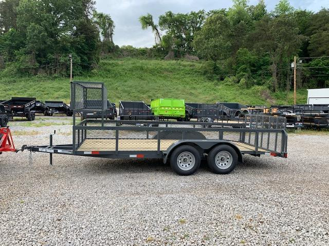 "2020 Outlaw Trailers 6.4' x 16' 7000 GVWR ""LANDSCAPE"" Utility Trailer"