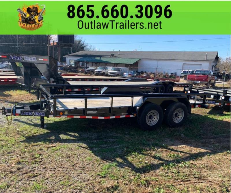"New 2020 Load Trail 83"" X 16' 14K Car Hauler / Utility / Equipment Trailer w/ w/ HD Side Exit Ramps"