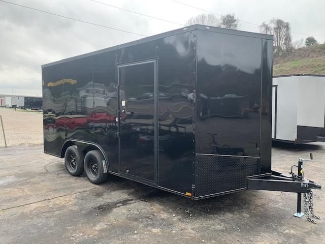 2020 Outlaw Trailers 8.5' x 16' W/ 7' interior height Enclosed Cargo Trailer