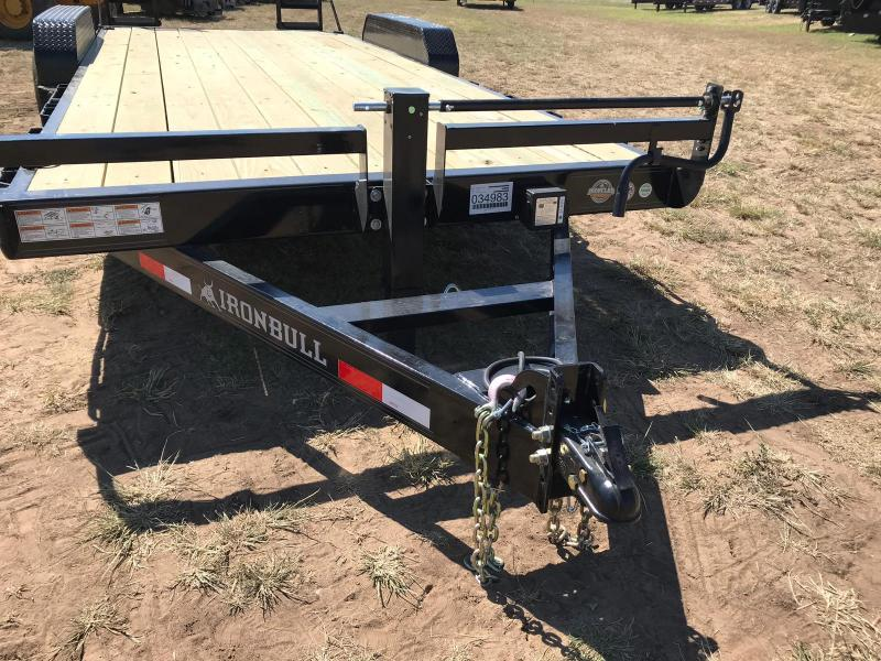 2019 Iron Bull 20' EQUIPMENT HAULER Equipment Trailer