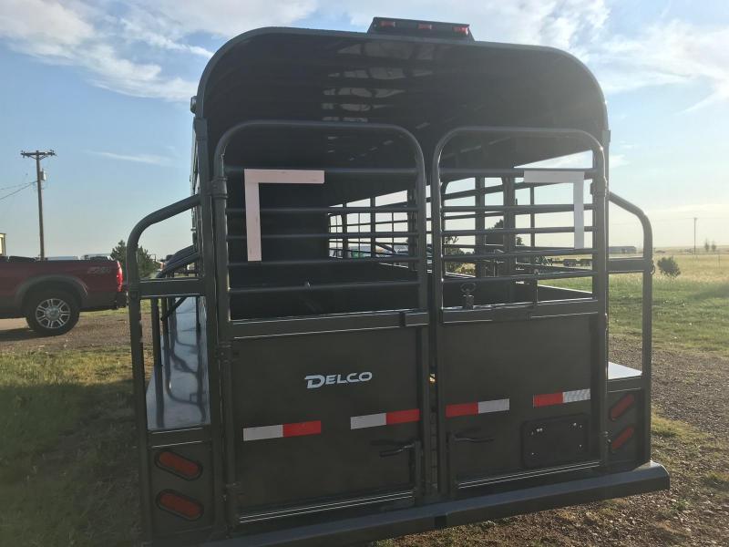 2019 Delco Trailers GOOSENECK CATTLE TRAILER Livestock Trailer