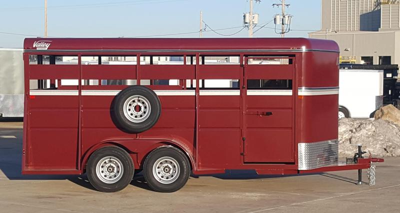 2019 Valley Trailers 26816 Stock Trailer