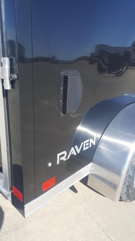 2019 ATC 7' X 12' Raven Motorcycle Trailer