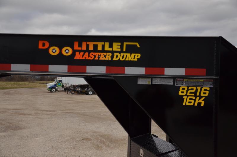 2019 Doolittle Gooseneck 8216 Master Dump Trailer