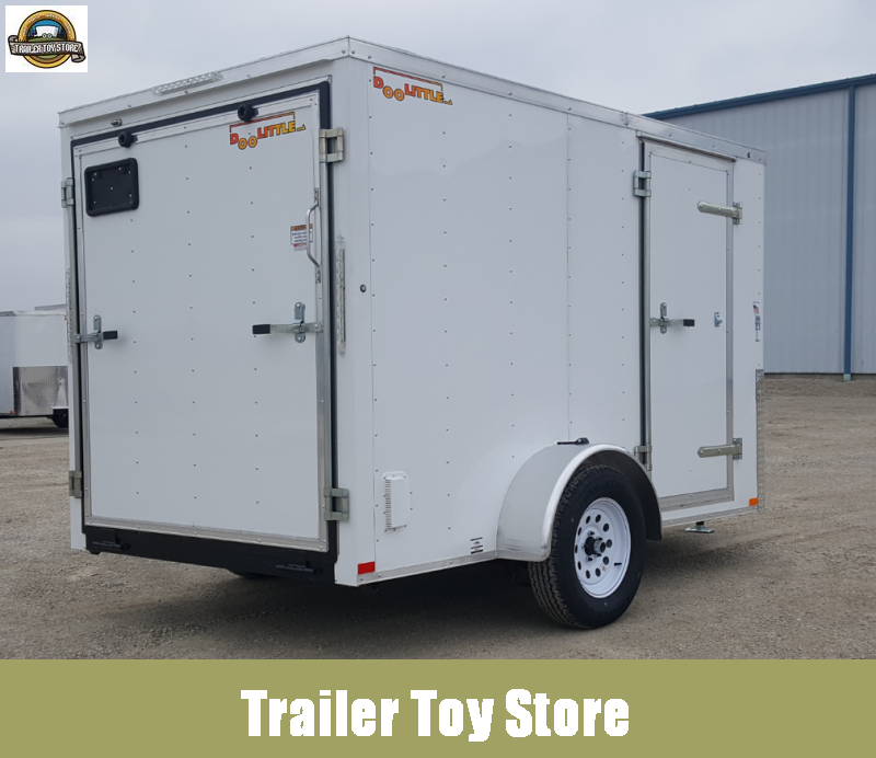 2019 Doolittle 6'X10' Cargo Trailer