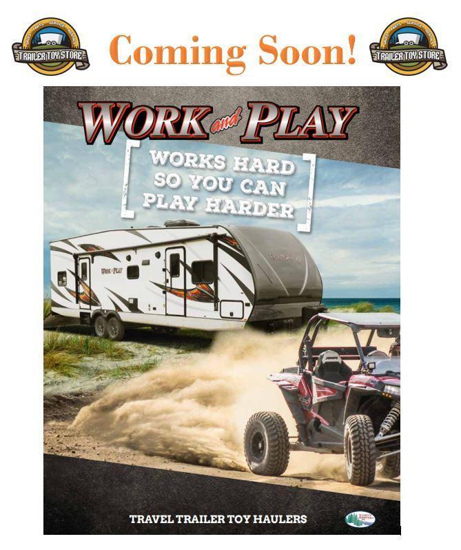 2019 Work & Play. Toy Hauler Trailer
