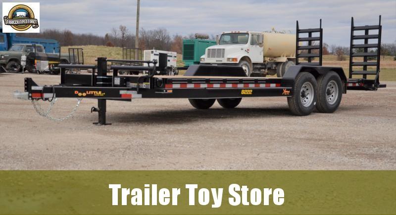 2019 Doolittle 8222 Xtreme Equipment Trailer
