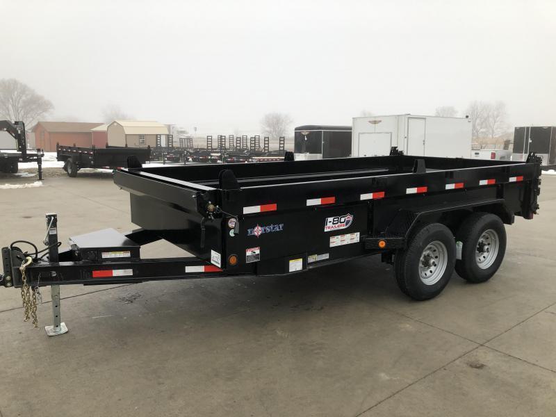 "2020 Norstar/Iron Bull 83""x14' 14K Dump Trailer"