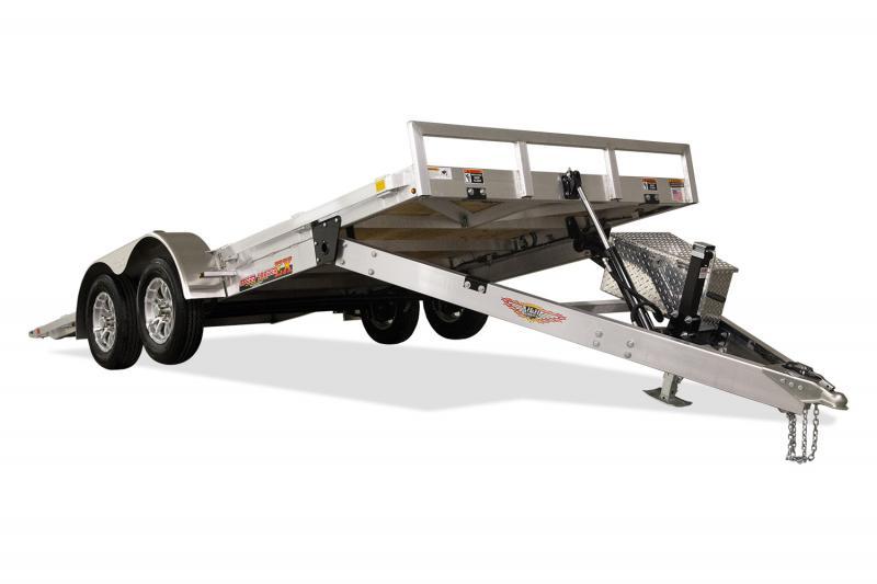 """2020 H and H Trailer 82""""x20' Electric Tilt Speedloader Aluminum 10K"""
