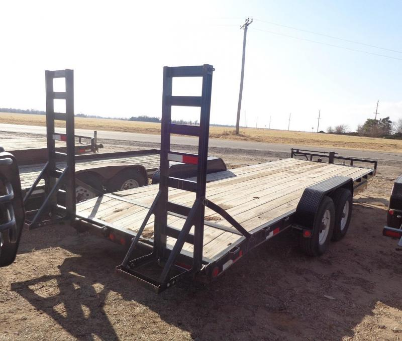 "2016 PJ Trailers 83"" x 22' 6 in. Channel (CC) Equipment Trailer"
