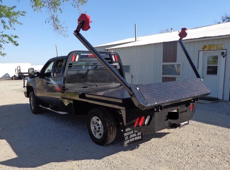 2019 Crownline Arm Bed (Hay Beds) Single Wheel Truck Bed